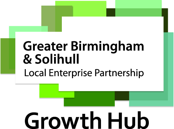 Image result for Greater Birmingham and Solihull Growth Hub logo