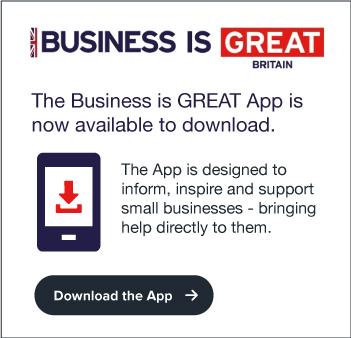 Download the Business Is GREAT app