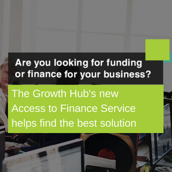 Who can get access to finance & funding?