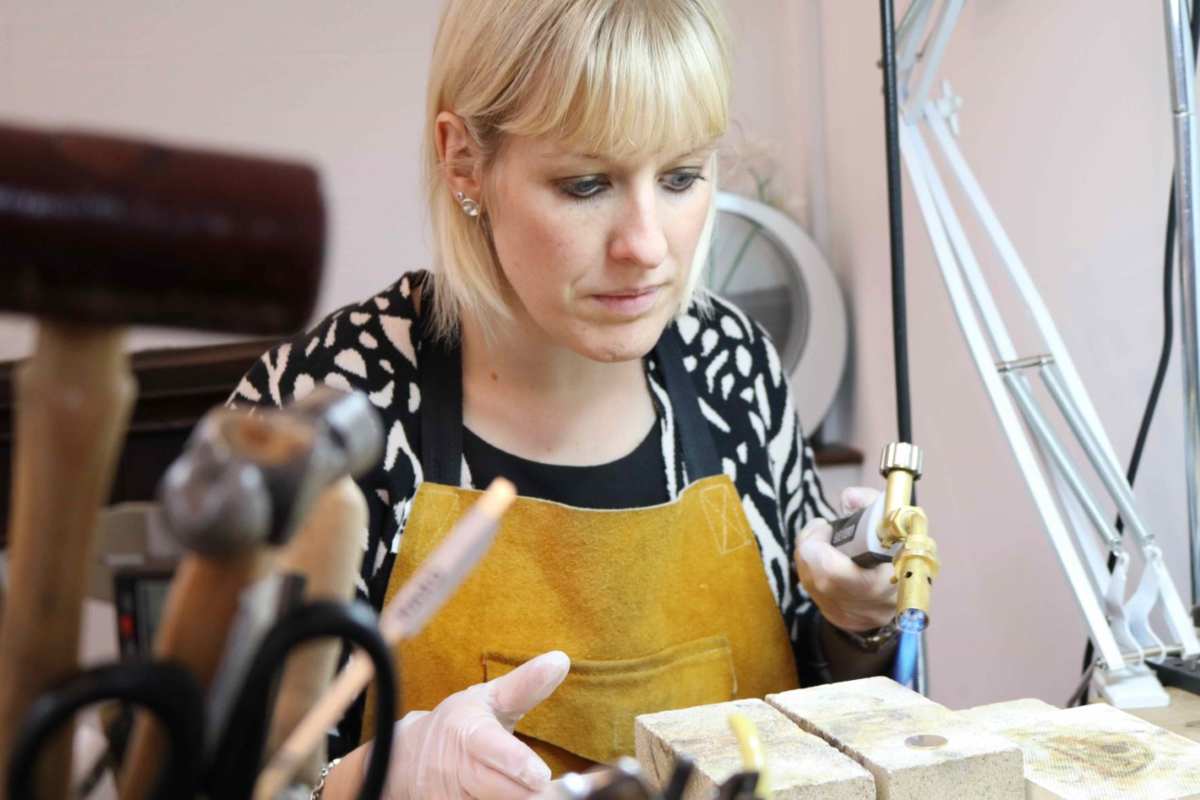 Jewellery company receives grant for business growth