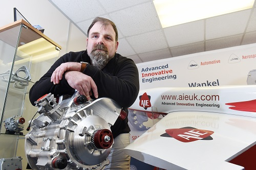 Midlands firm rewrites future of rotary engine