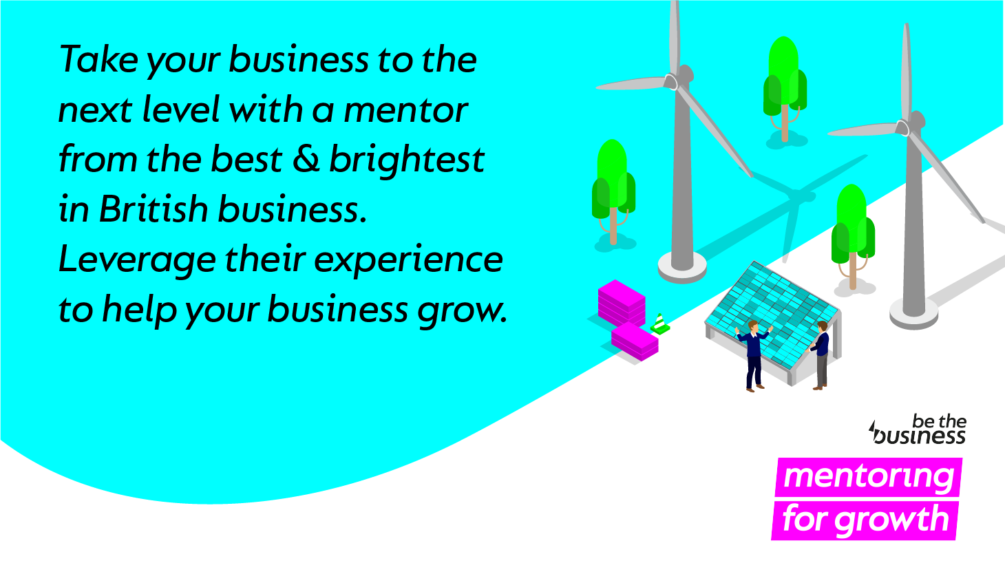 Image of Be The Business Mentoring information